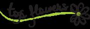 logo Top Flowers - магазин за цветя и подаръци