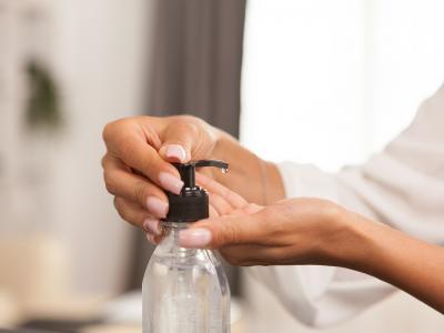 дезинфектант за ръце с основа от етилов алкохол