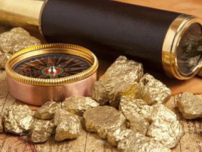 История на златото